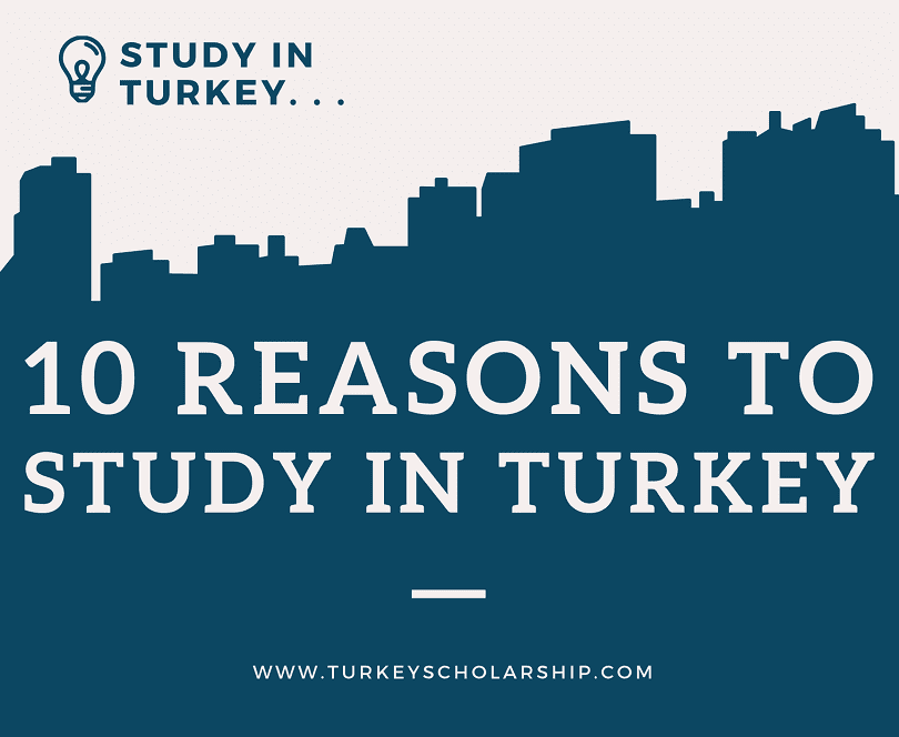 10 reasons to study in Turkey