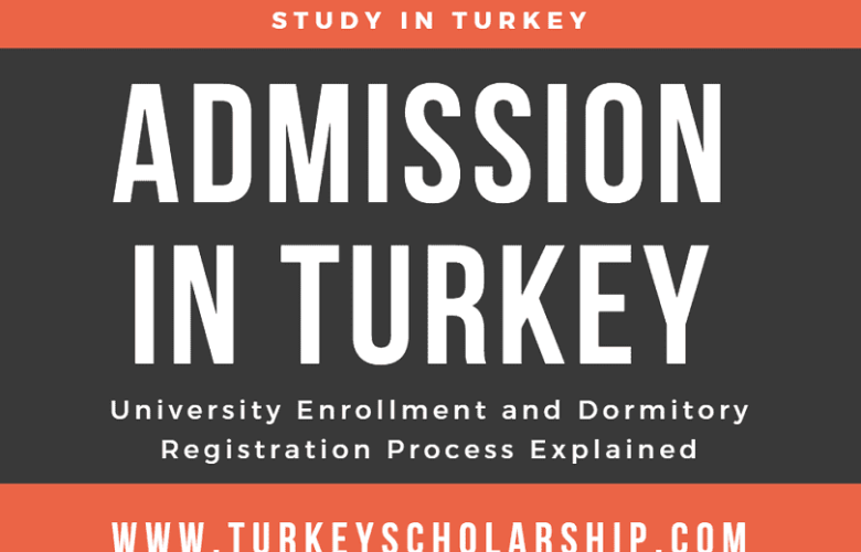 Admission in Turkey - University Enrollment and Dormitory Registration Process