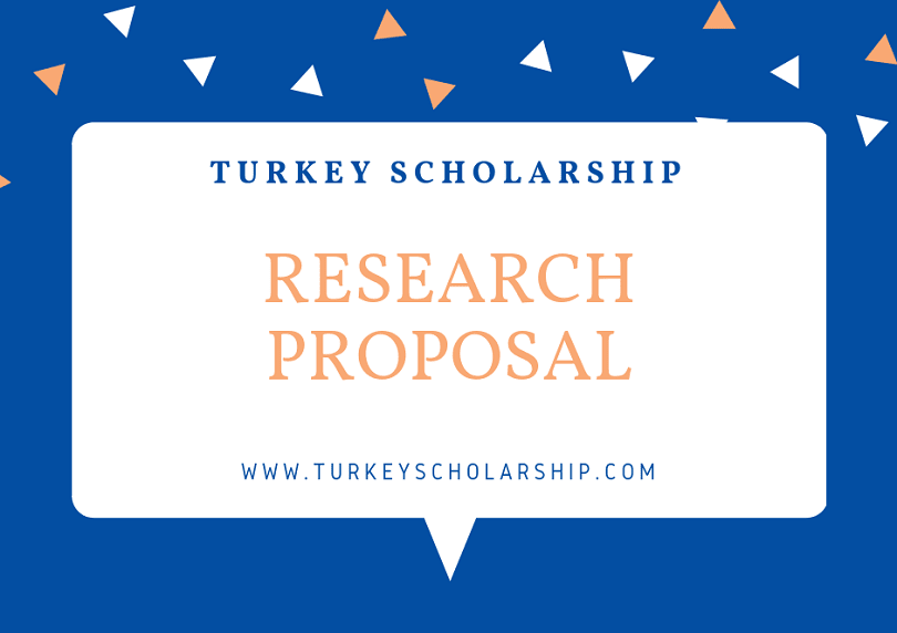 Research Proposal for Turkey Scholarship