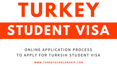 Turkey Student Visa for Turkey Government Scholarship