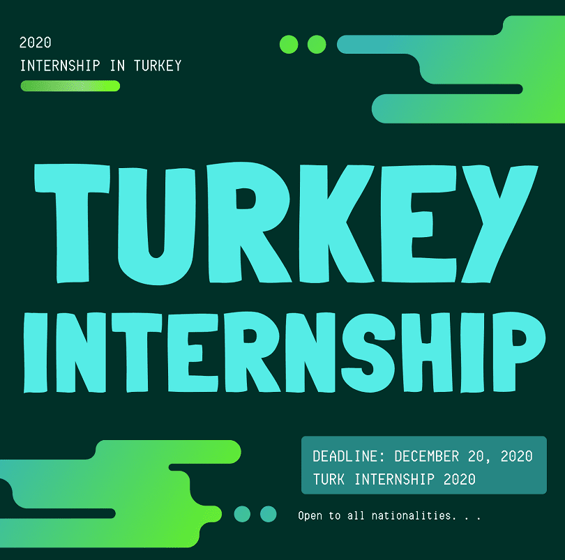 internship in Turkey