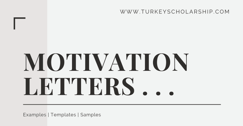 Motivation Letter - Letter of Motivation template