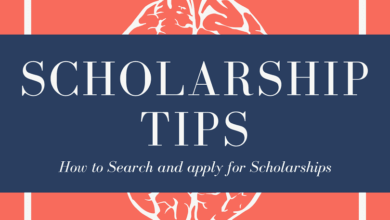 Scholarship Tips - How to search and apply for scholarships