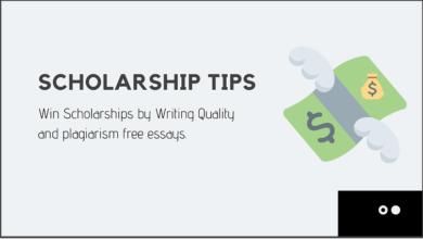 Scholarship Winning Tips - Scholarship Application Tips