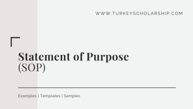 Statement of Purpose (SOP)