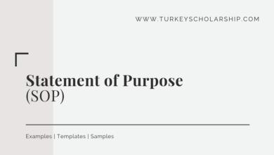 Statement of Purpose (SOP)