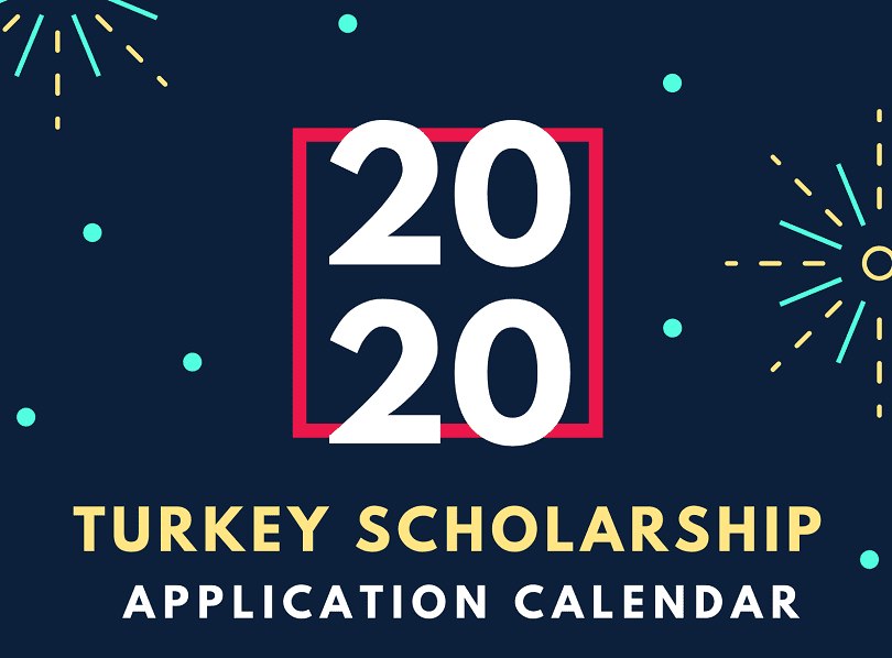Turkey Scholarship 2020-2021 Application Calendar – Turkiye Burslari 2020 Application Calendar and Results