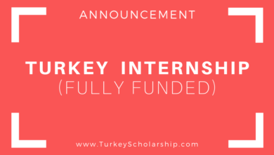 Turkey Summer Internship 2020 (Fully Funded)
