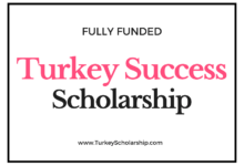 Turkey Success Scholarships