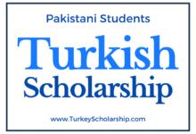 Turkey Scholarship for Pakistani Students
